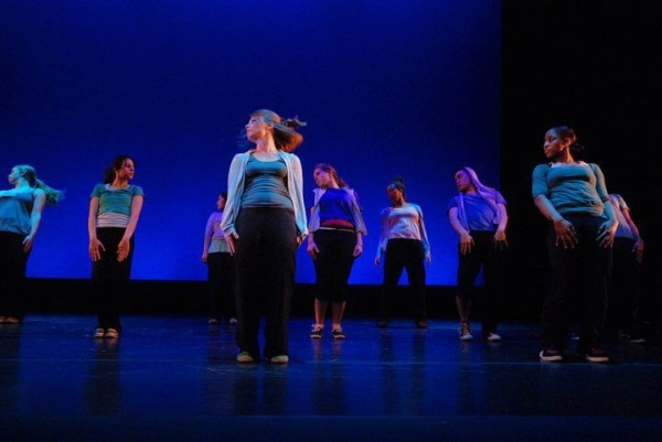 Performing one of my choreographed pieces - 2011