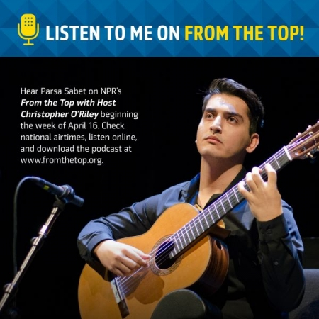 You can listen to my podcast from www.fromthetop.com