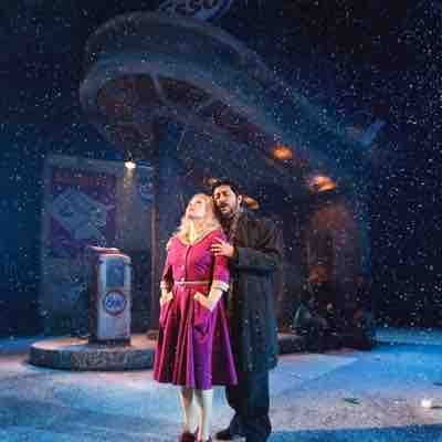 A recent production of La Boheme in Finland, where I sang the lead role of Rodolfo!