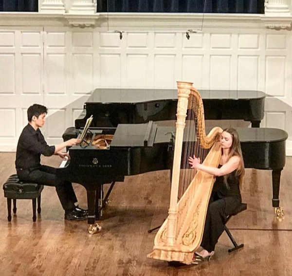 From my graduation recital at The Yale School of Music, April, 2018.