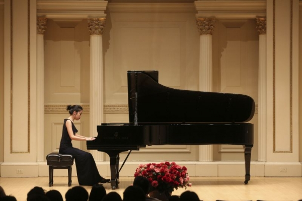 American Protege International Competition Winner's Recital at Carnegie Hall in 2015.