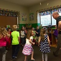 Working of following direction, gross motor and social skills through group based dance activities. Kids love this!