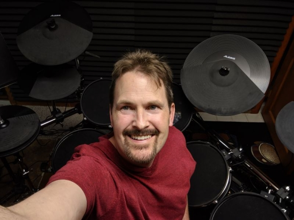 I teach on both electronic and acoustic drumsets.