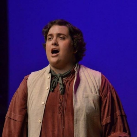 """From a production of """"L'Elisir d'Amore"""" by Gaetano Donizetti, where I played the role of the lead tenor, Nemorino."""