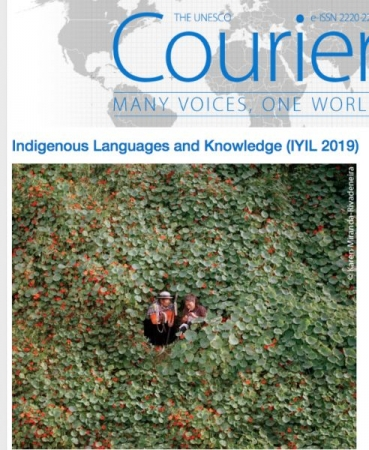 UNESCO cover shot 2019 for Year of Indigenous languages