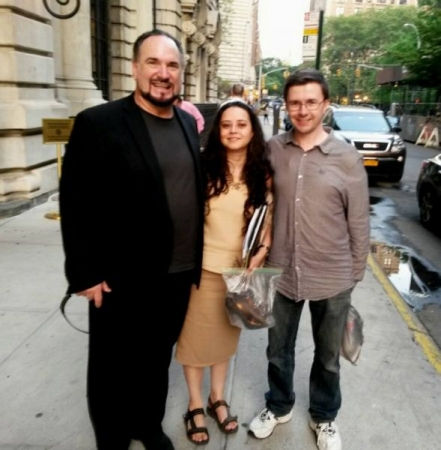 After a concert in NYC with Maestro Robert McFarland and Ruslan Odintsov