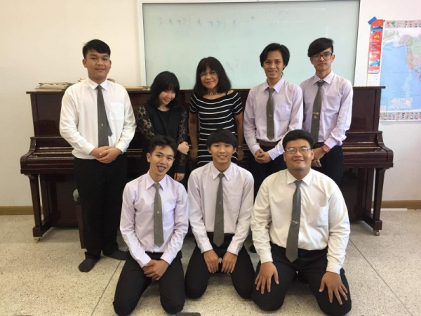 Some of my students at Mahasarakham University College of Music.