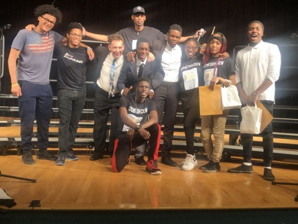 """East Orange Campus High School """"Technical Assistants Crew. After our annual Spring Concert in May 2019"""