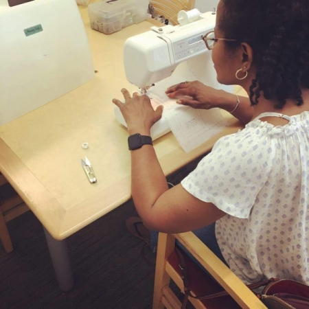 Sewing lessons for adults