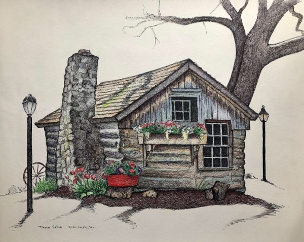 Thorp Cabin, Fish Creek, Wi