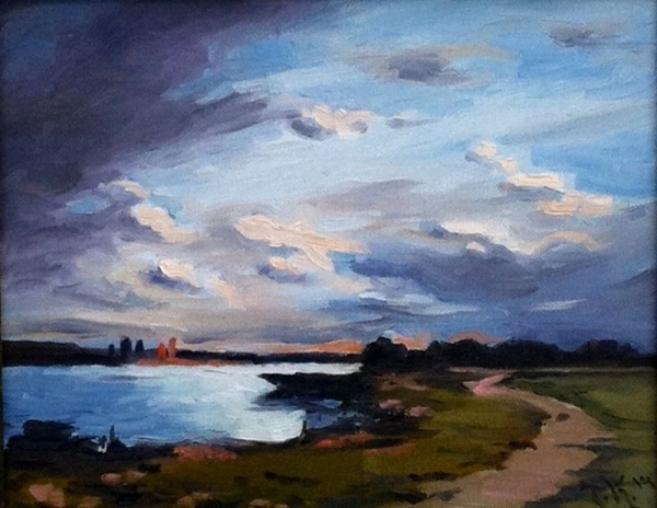 Glorious Morning, oil painting
