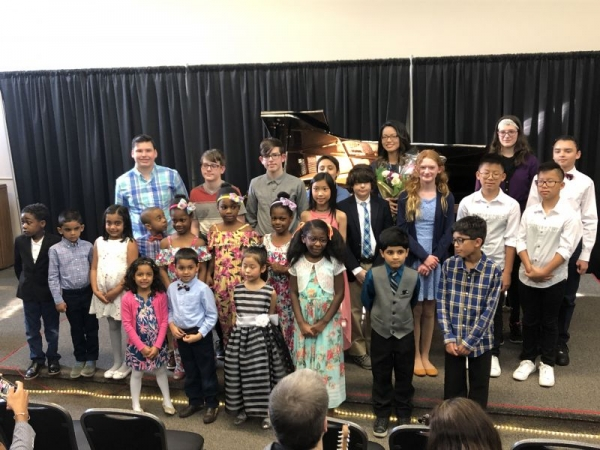 Recital in Michigan, May 2019