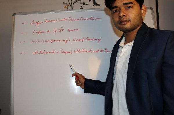 Online Lessons on Takelessons with Ravin Govindbhai