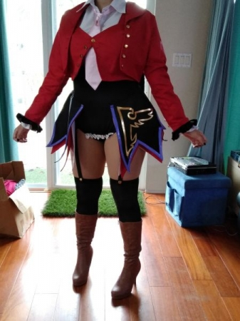 took in cosplay costume 2 sizes