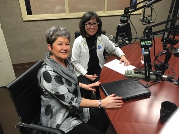 Julie Metz, interviewed Tanya Hoover on a local radio show about her English teaching business.