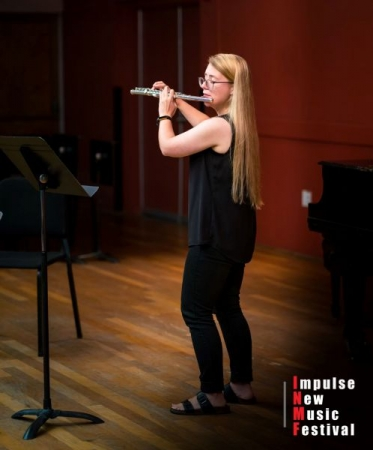 Performing in a masterclass for Jill Felber