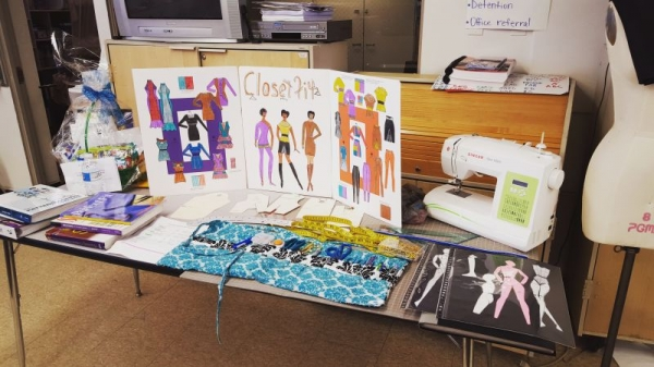 Fashion Presentation for student outreach.
