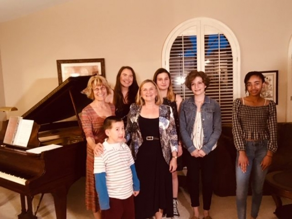Some of the fabulous students who performed at the Spring Studio Recital, May, 2019!