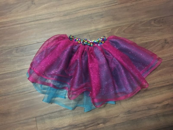 Custom made Tu-Tu Sheer Kid's Skirt made by yours truly Melissa G.