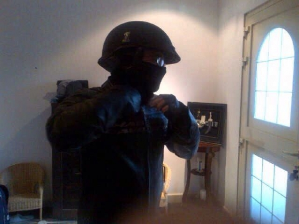 All Geared up for a ride :)