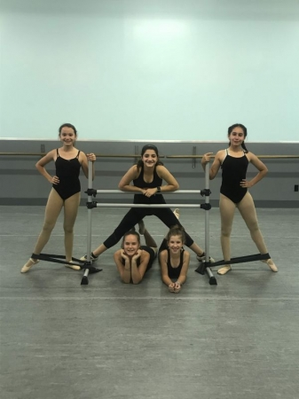 My wonderful pre-pointe students at The Pretenders Studio