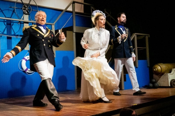HMS Pinafore with Delaware Valley Opera where I played Josephine in 2019.