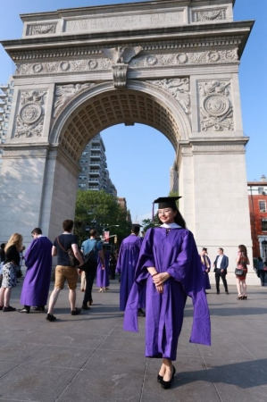 I got my master degree from Tisch School Of the Art, NYU.