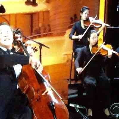 Performing with Yo-Yo Ma at the Kennedy Center Honors