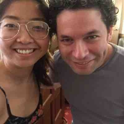 With Gustavo Dudamel at the Music Academy of the West