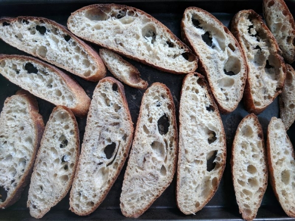 I also make sourdough bread with my starter!