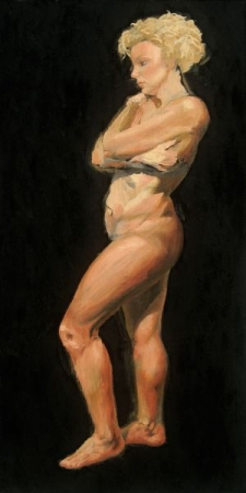 Oil Painting of The Figure