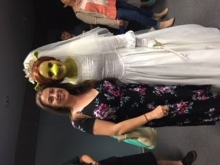 Student, LEAD ROLE of Princess Fiona and Dance 111 Theater Company's 2018 production of Shrek. What an amazing performer!!!