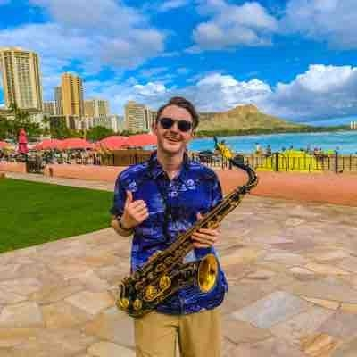 From tour in Hawaii with the Blue Note Swing Orchestra, July 2019