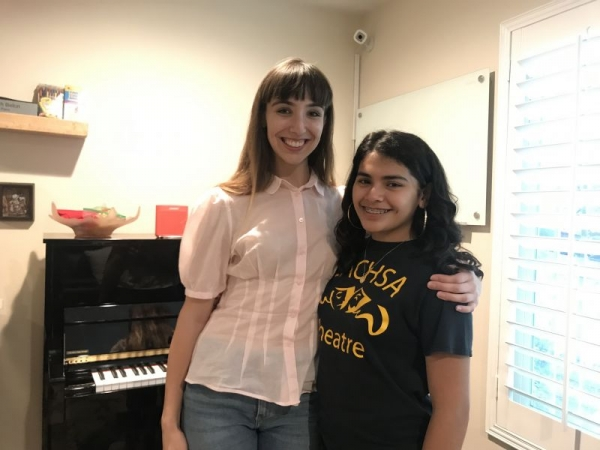 One of my Musical Theater Students!