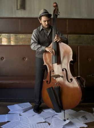 Upright Bass Portrait