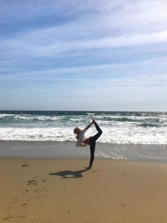 Private Yoga Sessions on the Beach.