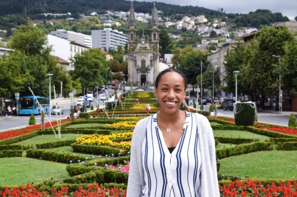 Visiting beautiful cathedrals in Portugal