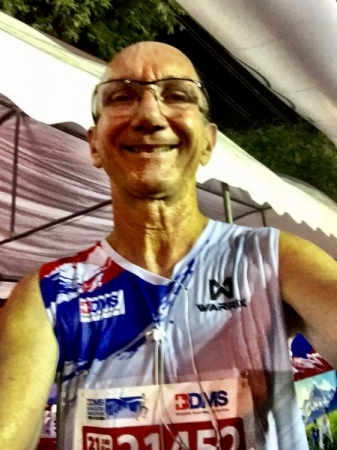 I ran the Bangkok half marathon in 2017