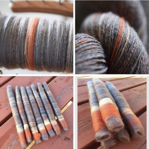 450 yards of handspun