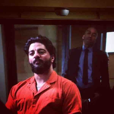 "Portraying ""George Dano,"" a convicted murderer, on ""Blue Bloods."""