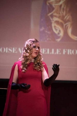 "What a thrill to perform Georges Bizet's ""L'amour est un oiseau rebelle!"""