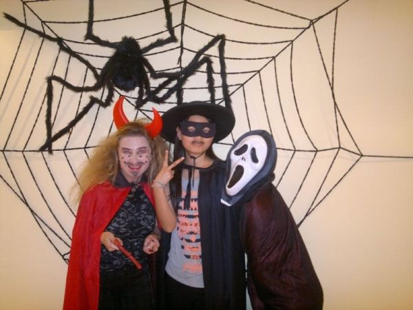 Halloween in the training school in Xiamen