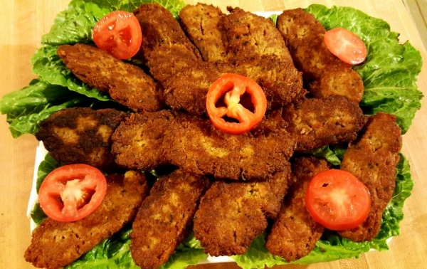 Persian Style beef Cutlet