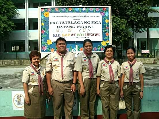 Boy Scout Investiture - October 23, 2011