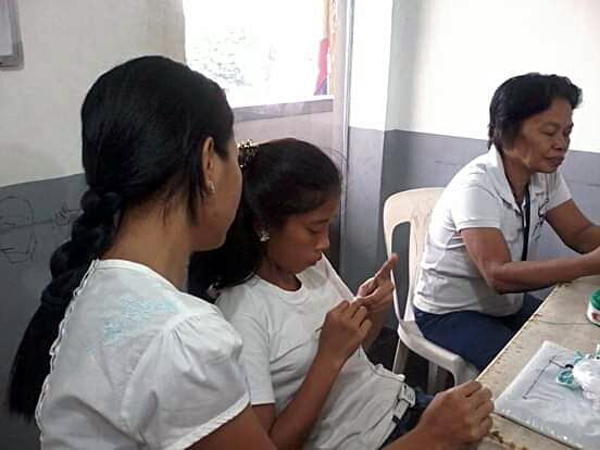 Livelihood Education (Crocheting) - January 27, 2013