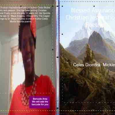 This is my Christian Inspirational poetry book that I published called Blessed Assurance Christian Inspirational poetry book.