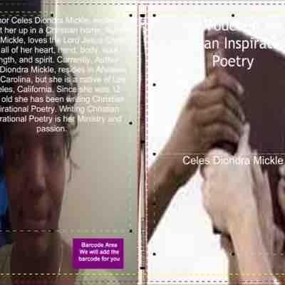 This is my Christian Inspirational poetry book that I published called He Touched Me Christian Inspirational poetry book.