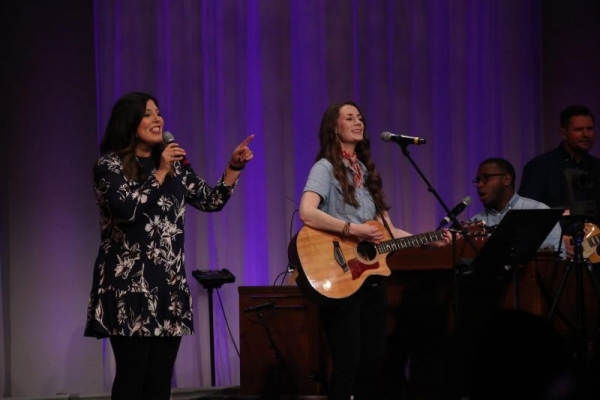 Leading worship is always such a privilege. I also love teaching musicians how to lead or be part of the team!