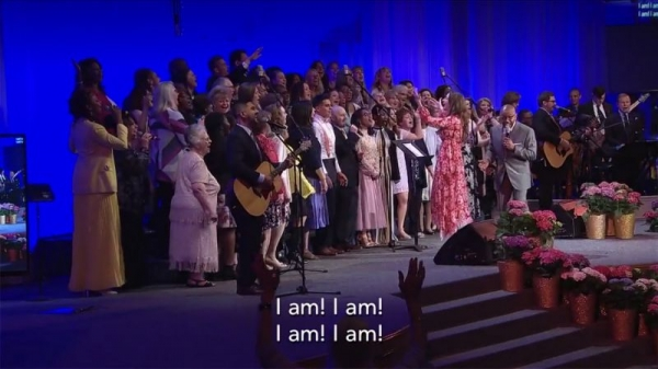 Love being part of my church choir and it's even more fun to direct!!!