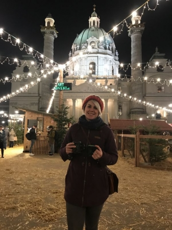 At the Christmas Markets in Vienna 2019!